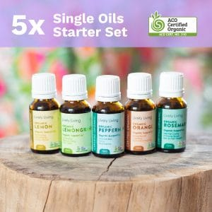 5x SINGLE OIL STARTER SET