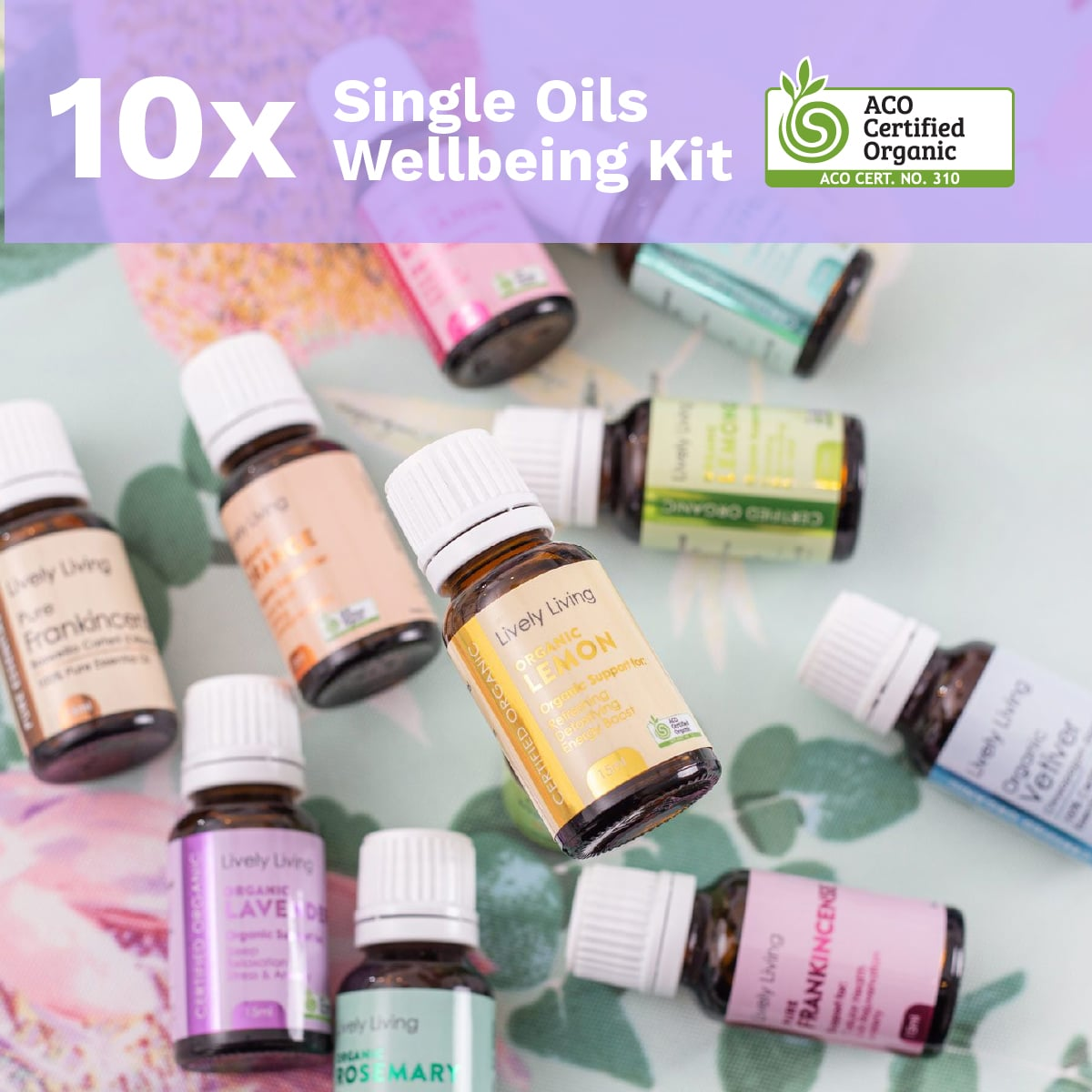 10x SINGLE OILS WELLBEING KIT