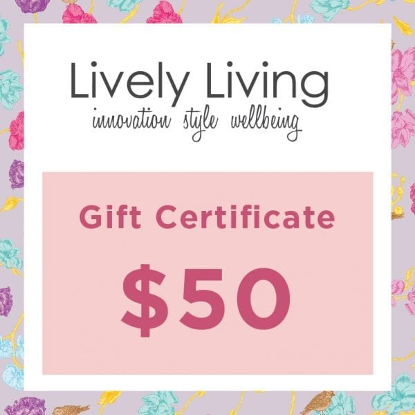 Lively Living $50 Gift Card